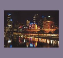0833 City at Night 2 Kids Tee