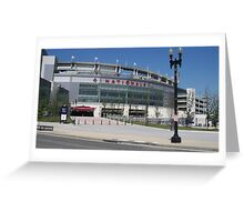 The Nationals Stadium Greeting Card