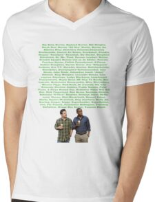 "Gus ""Sillypants"" Jackson Mens V-Neck T-Shirt"