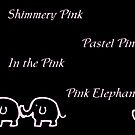 Pink Elephants by sarnia2