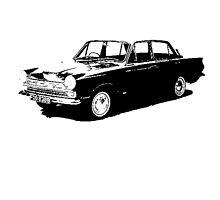 Ford Cortina 4-door Saloon '62-'66 by garts