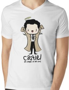 Castiel - Angel of the Lord Mens V-Neck T-Shirt