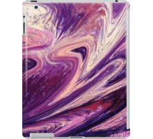 Purple Floral Flow Abstract iPad Case/Skin