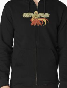 Bird Jesus feat. Helix Fossil- Twitch Plays Pokemon Zipped Hoodie