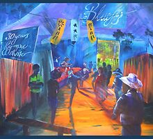 GYMPIE MUSTER COLLECTION - BLUES in the Grove 2 by tola