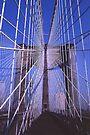 Steel Webwork -- Brooklyn Bridge, New York City by John Carpenter