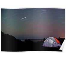 Roaring Stars at Flamber Head Poster