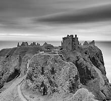 Dunnottar Castle Sunrise by Grant Glendinning