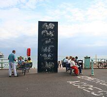 Kissing Brighton by Jason Teeple