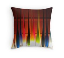 Somewhere Over The Rainbow-Cropped Throw Pillow
