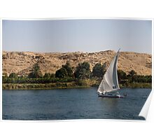 Nile Felucca Poster