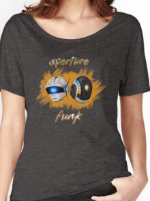 Aperture Funk - Orange Women's Relaxed Fit T-Shirt