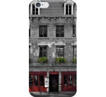 114 rue St-Paul - Selective colour iPhone Case/Skin