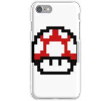 8 Bit Mushroom iPhone Case/Skin