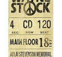 Waynestock Ticket by Technoir