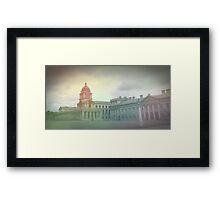 Greenwich Uni Framed Print
