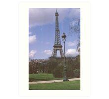 Eiffel Tower, Paris, France,1970 Art Print