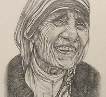 Mother Theresa ; Kindness by KentChua