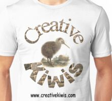 Creative Kiwis, New Zealand, Aotearoa Unisex T-Shirt
