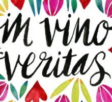 In Vino Veritas Sticker