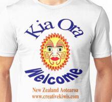 Kia Ora, New Zealand, Aotearoa Unisex T-Shirt