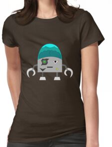 Frankenbot the Destroyer Womens Fitted T-Shirt