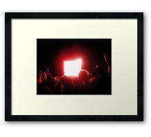 Atomic Haze Framed Print