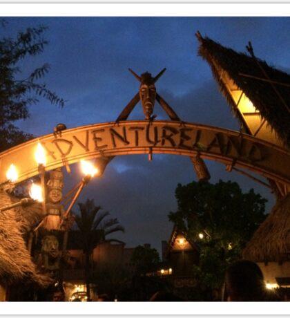 Adventureland Sticker