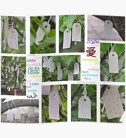Yoko Ono's Wishing Tree - Washington D. C.  Poster