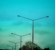 Passing Streetlights. by Lynne Haselden