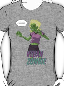 Lady Vegan Zombie T-Shirt