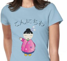 Konichiwa Womens Fitted T-Shirt