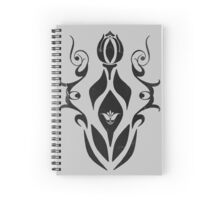 Cool Graphic T-Shirt Design - The Dragon! Spiral Notebook