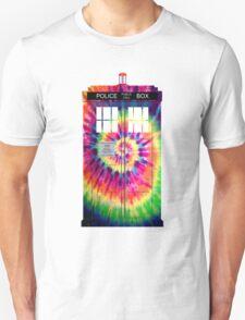Tie Dye Tardis T-Shirt
