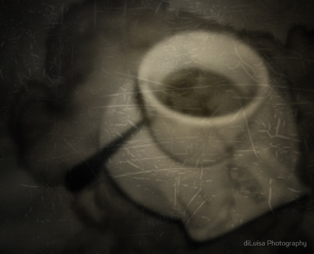 you asked me out for coffee......and I came home with a heart that was scratched and stained..... by diLuisa Photography