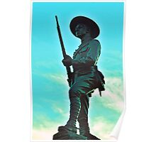 Boer War Memorial Monument Poster