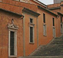 Roman Steps by Vanessa Goodrich