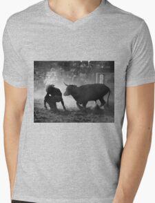 0102 Caught Unawares Mens V-Neck T-Shirt