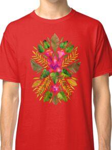 Tropical Symmetry – Pink & Green Classic T-Shirt