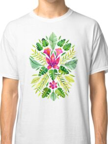 Tropical Symmetry – Pink & Green Classic T-Shirt