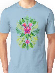 Tropical Symmetry – Pink & Green Unisex T-Shirt