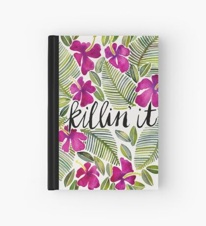 Killin' It – Tropical Pink Hardcover Journal