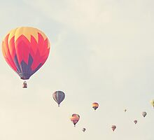 hot air balloon parade by STUDIOCLAIRE