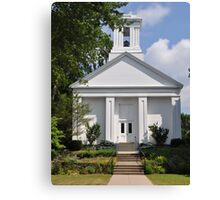 Wickford Rhode Island Church  Canvas Print