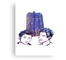 Doctor Who - Ten & Eleven Canvas Print