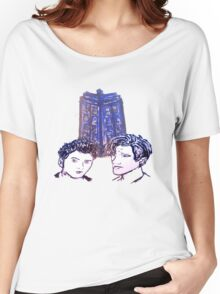 Doctor Who - Ten & Eleven Women's Relaxed Fit T-Shirt