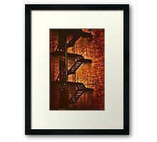 City Escape Framed Print