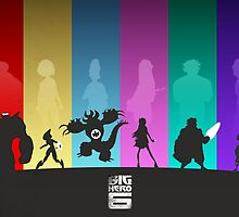 The Big Hero 6 by Travis Love