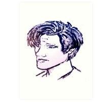 The Eleventh Doctor Art Print