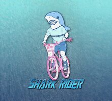 Shark Rider by marlowinc